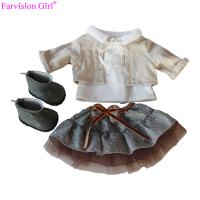 China Latest doll accessories for girl cloth with dress toy dress for 18 american girl doll on sale