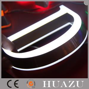 Colored Mini Edge - Lit + Backlit Acrylic 3D Sign Letters