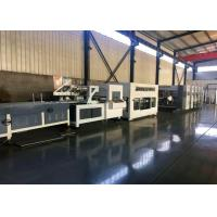 Alloy Steel Corrugated Paperboard Flexo Printing Slotting Machine / With Folder And Gluer Bundling Machine