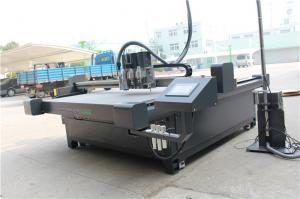 China Precision Corrugated Paper Cutting Machine , Advertising Cloth Cutter Machine on sale