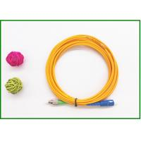 High Return Loss St Lc Single Mode Fiber Patch Cable / Optical Jumper Cord