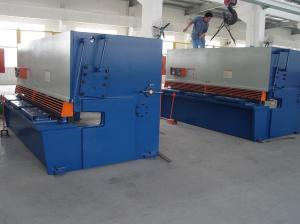 China Iron Carbon / Stainless Steel Sheet Metal Cutting Machine / Metal Shear Cutter on sale