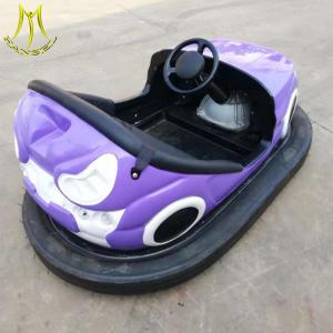 China Hansel amusement park fiberglass dodgem battery indoor bumper car for sale on sale