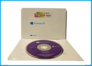 China Microsoft Windows 10 Pro Software 64 bit DVD OEM License oem pack on sale