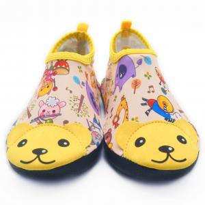 China Cute Childrens Swim Shoes Flexible Water Shoes For Beach Walking  Unique Sole Design on sale