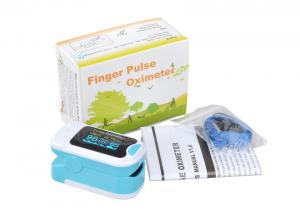 China Color OLED Display Finger Pulse Oximeter SPO2 Probe PR Heart Rate Monitor with PI Function on sale