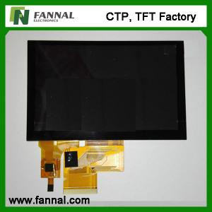 China 5 inch Capacitive touch screen 800*480 dots industrial capacitive touch screen on sale
