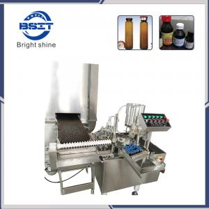 China Oral Liquid Filling & Sealing Machine (PET bottle 10ml and 25ml) on sale