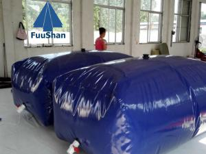 China Fuushan Commercial Potable Folding Pillow TPU/PVC Poly Water Tank on sale