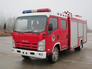 China ISUZU 3 Tons Fire Rescue Truck 750 Gallons 3000L Large Loading Capacity on sale