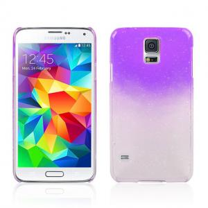 China Purple Anti Scratch  Soft TPU Gel Case Best Case For Samsung Galaxy S5 on sale