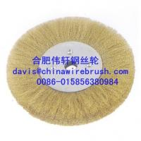 Crimped Wire Circular Brushes with Nuts