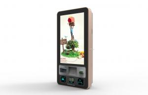 China IR Waterproof Wall Mounted Kiosk 32'' Touch Screen Payment Machine CE/FCC Approval on sale