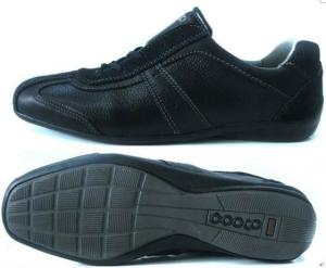 China 2012 hot!! sports leather /cotton fabric / rubber  stylish walking shoes for men good men on sale