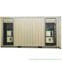ISO Standard Mobile Gasoline Station Tank Container 20 FT 10000 -20000 Liters