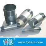 Conduit et garnitures rigides galvanisés par fil précis adaptés aux besoins du client de l'acier IMC de mamelon de conduit