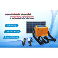 10 -30W solar home system, 10-30W solar panel, 12V/10A controller, 7 -12AH AGM battery, 2pcs 3W LED