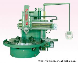 China Chinese manual single column vertical turret lathe for sale on sale