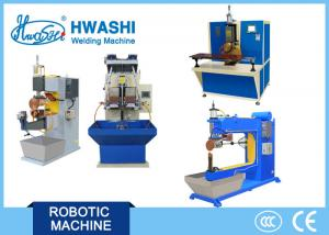 China Stainless Steel Seam Welding Machine 100kw Input Power Resistance Welding on sale