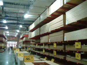 China 300kg - 1000kg Cantilever Racking Systems for warehouse , customized Height on sale