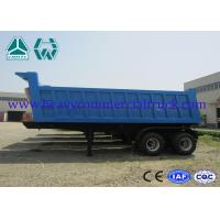 Hydraulic dump semi trailer - front tipping with Air suspension system