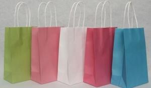 China Promotional Customized corporate Paper Kraft Carrier Bags Printing with OEM/ ODM Available on sale