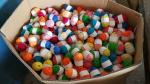 New 20 Skeins Bonbons Yarn  Colors 100% Acrylic yarn for Crochet & Knitting Multi Pack