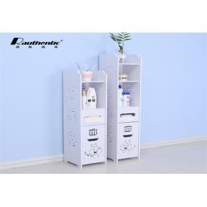China Lovely bathroom floor storage rack bathroom shelf Washroom lockers on sale