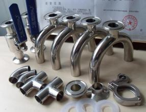 1/2 Inch - 8 Inch Stainless Steel Pipe Fittings Sanitary Elbow  Bend  Tee  Reducer3ASMSDIN & 1/2 Inch - 8 Inch Stainless Steel Pipe Fittings Sanitary Elbow ...