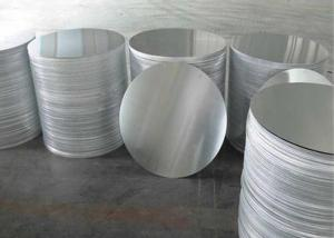 China Deep Drawing Aluminum Circle Blanks , Bright Spinning Aluminium Sheet Circle on sale