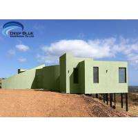 China Customized Design Modern Style Building Steel Structure Prefab Villas With Kitchen on sale