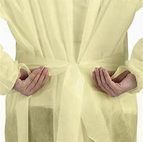 China Clothing Sterile Disposable Surgical Suit / Protective Disposable Surgeon Gown on sale