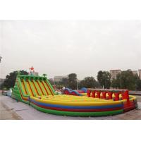 Longest and Largest The Beast Inflatable Obstacle Course For Adults