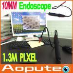 Борескопе Эндоскоп витх10мм ВатерпроофКамера осмотра электрического интерфейса УСБ 2,0 Эндоскопе Борескопе СИД Фокус4 видео-