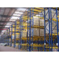 China Universal single access selective pallet rack with cold rolled steel , 500KG on sale