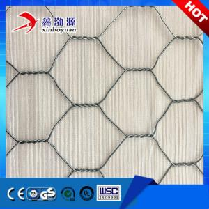 China Hot Dipped Galvanized Gabions Box Gabion Baskets Wire Mesh Stone Cages on sale