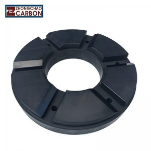 China Mechanical Engineering Carbon Thrust Bearing , Carbon Dry Sliding Bearing on sale