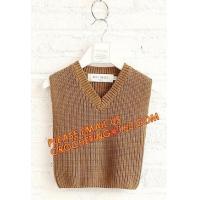 Superior quality wholesale v neck sweater boys casual kid vest, Fashionable cozy wholesale v neck sweater boys casual ki