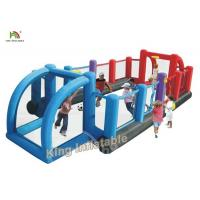 China Commercial Inflatable Sports Games Double Color / Giant Inflatable Soccer Filed on sale