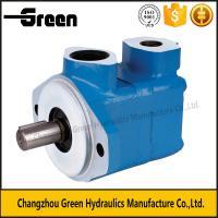 V10, V20, V2010, V2020 Vane Pump,pressure testing pump single and 2 stage vane pump blue environment  paint good price