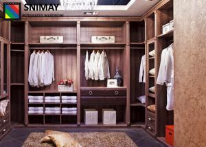 ... Quality Professional Armoire Bedroom Wardrobe Closet , Dark Wood Modern  Clothes Storage Closet For Sale ...
