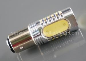 China White Auto Light Bulbs Led Reverse Lights High Output 6500K 12 - 24V BAY15D on sale