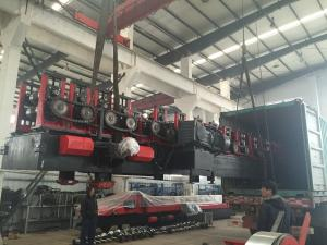 China Auto C&Z Purlin Roll Forming Machine for Light Steel Structure Buildings Exported to KSA on sale