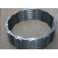 Hot Dip Galvanized Concertina Razor Wire CBT-65 Stainless Steel High Security