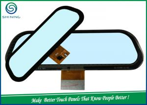 China 9.2 Inch CTP 3 Layers Capacitive Touch Panel For Car Rear View Mirror Camera on sale