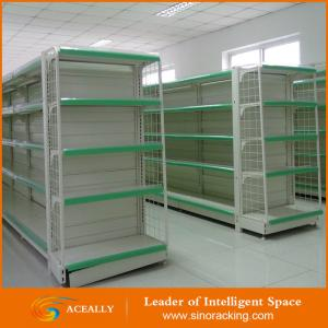 China Grocery store retail display stand racks gondola shelving on sale
