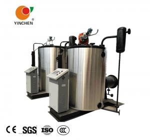 China 2 Ton Oil And Gas Fired Steam Boiler Once Through Water Tube Structure on sale