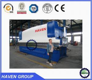 China WC67 Series Hydraulic Press Brake and Metal Bending Machine on sale
