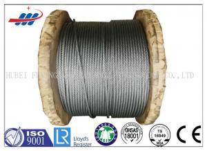 China Anti Rotation High Tensile Wire Rope , Steel Wire Cable For Heavy Machinery on sale