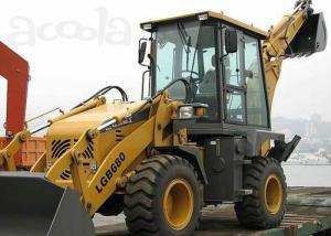 Water Cooling Engine Compact Tractors with Backhoe and Loader